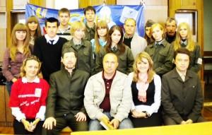 Со слушателями мастер-класса в Доме творчества школьника